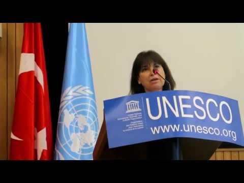 TÜRK SİVİL TOPLUM KURULUŞLARI PARİS UNESCO'DA ULUSLARARASI BAŞARILARINI ANLATTI